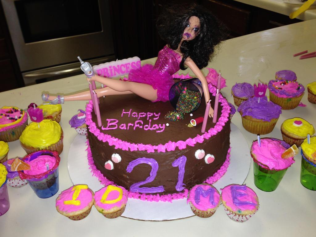 Drunk Barbie Cake By Shadowondawall On Deviantart