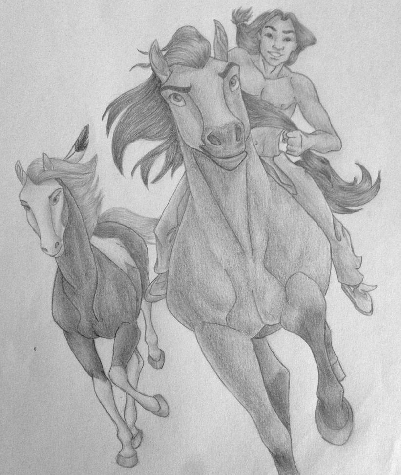 Spirit: The stallion of the cimarron by DisneyMonica on ...  Spirit: The sta...