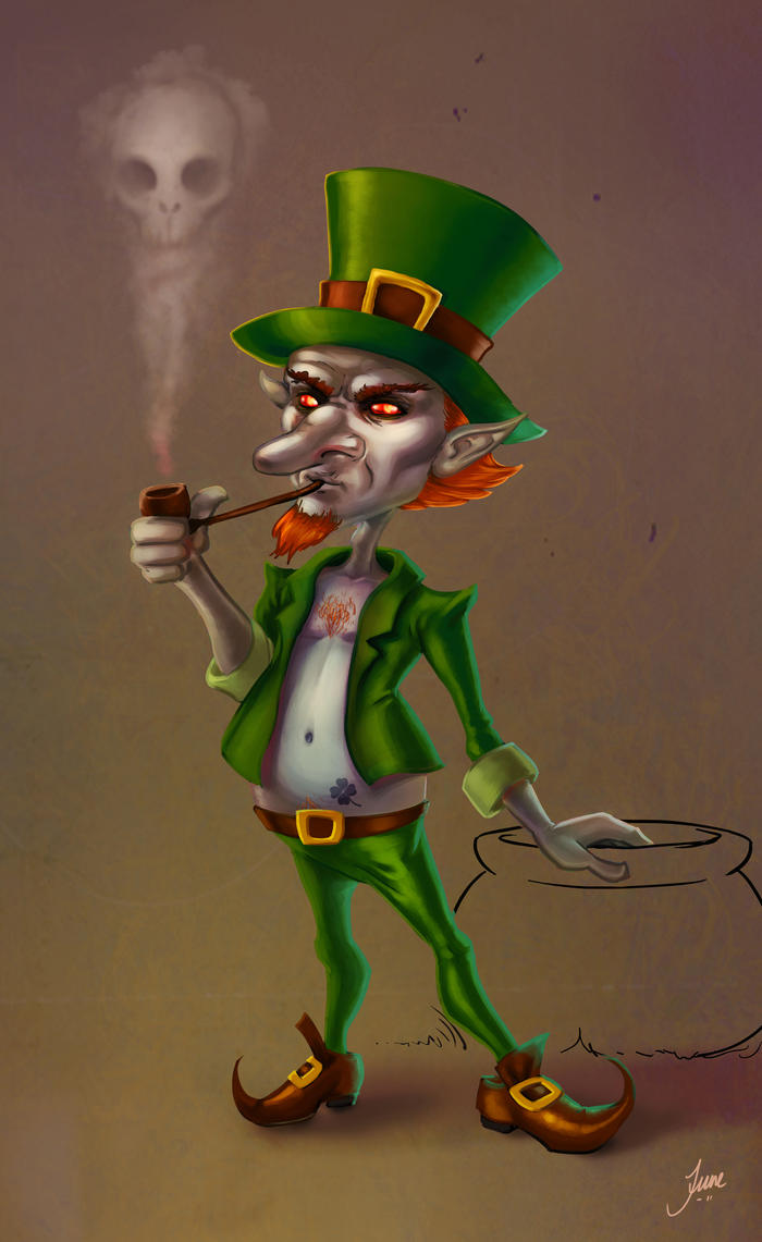 leprechaun the bad guy by junejenssen on deviantart