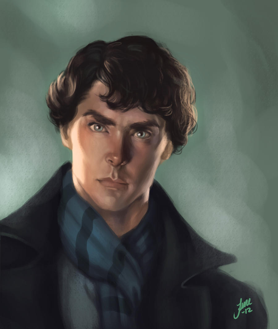 Sherlocked Speedpaint by JuneJenssen
