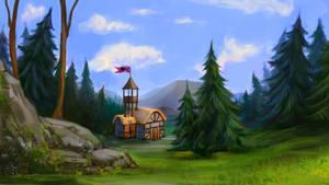 Speedpaint: Nanny`s Hunting Lodge