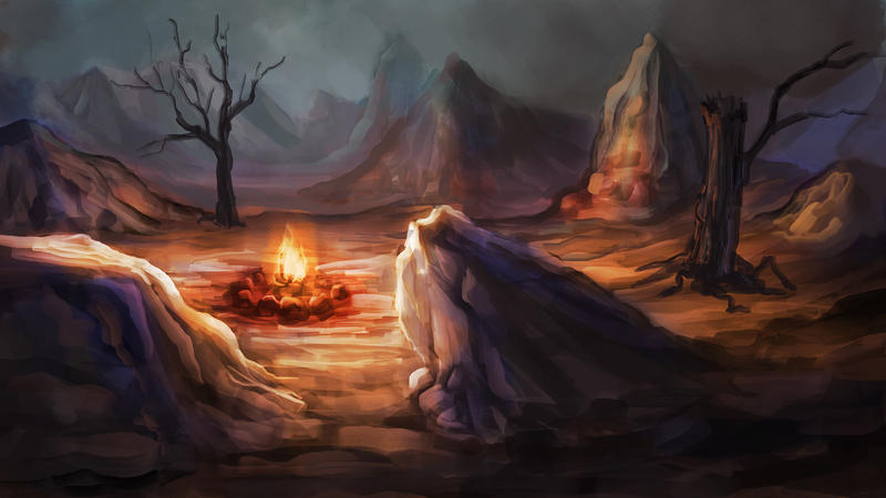Speedpaint: Troll Canyon