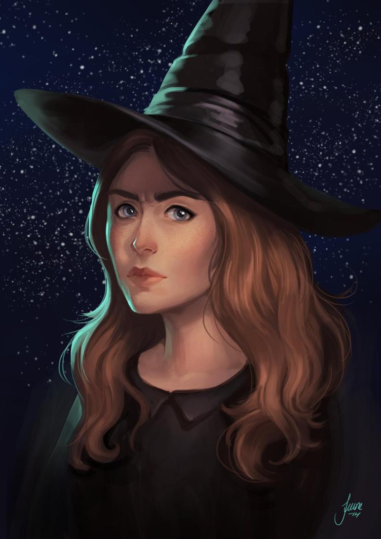 Sketch of Tiffany by JuneJenssen