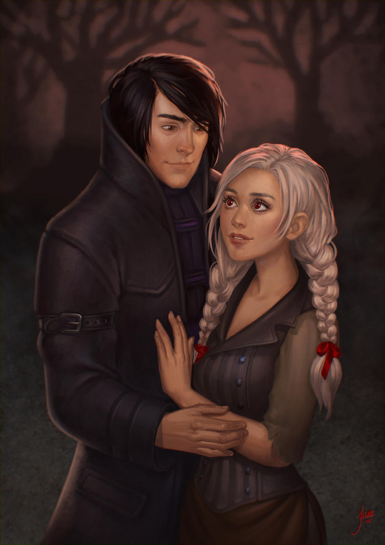 Commission: Enforcer and Lucy by JuneJenssen