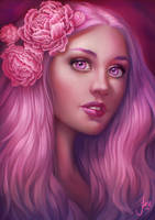 Magenta by JuneJenssen