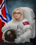 Astronaut Self Portrait