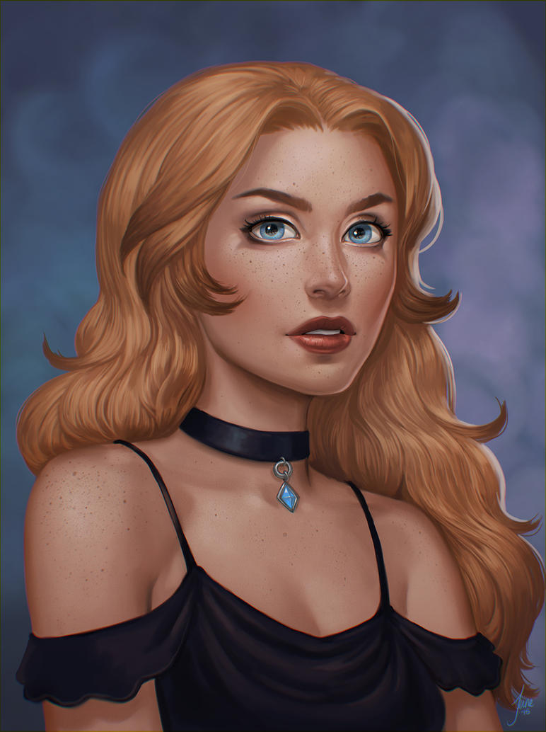 Commission: Lady Francisa by JuneJenssen