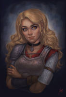 Speedpaint video: Angua Von Uberwald by JuneJenssen