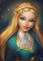 Princess Zelda by JuneJenssen