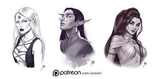 Patreon sketches