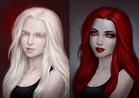 White and Red by JuneJenssen