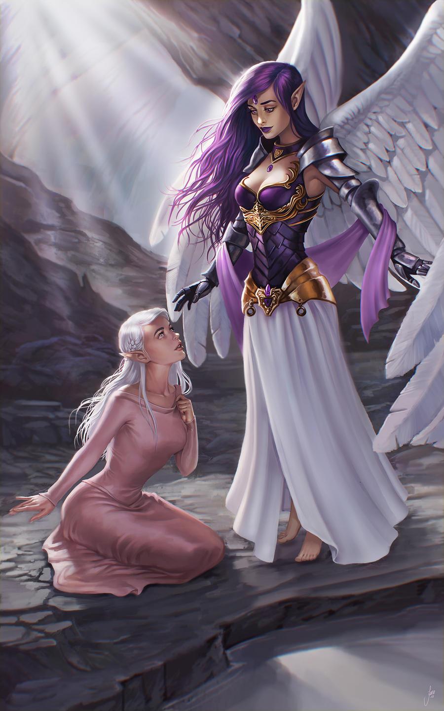 Tyria and Diamond