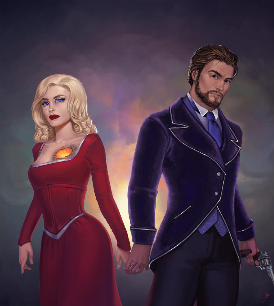 Isembard and Merrith by JuneJenssen