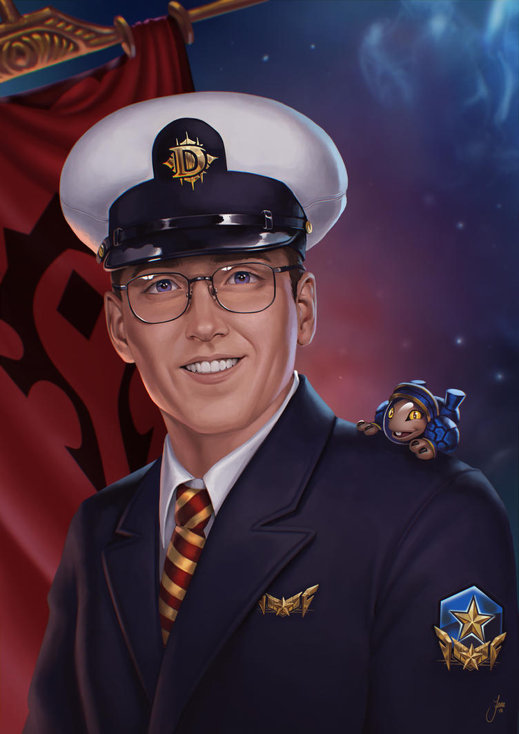 Blizzard Portrait by JuneJenssen