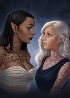 Touching Divinity by JuneJenssen