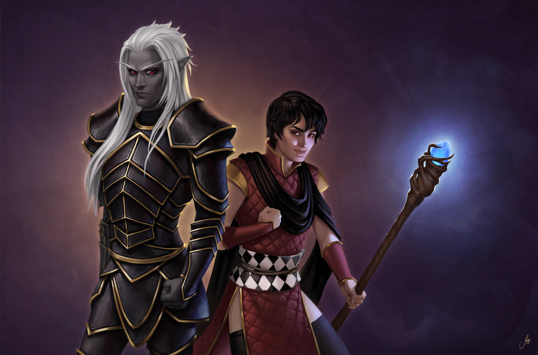 Tevruden and Dante by JuneJenssen