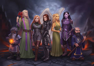 DnD Group Illustration