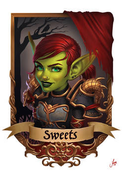 Sweets Blizzcon Badge