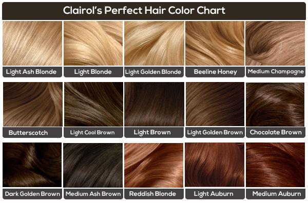 Girls hair color chart by azurevirgo on deviantart