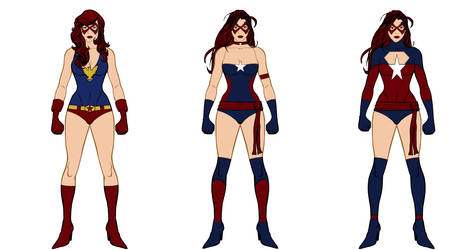 HM3 Practice: Justice Costume Design's Version 1