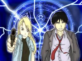 Roy and Riza by 11KairiMayumi11
