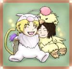 FF IX: Chibi Mascots by 11KairiMayumi11