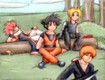 Secret Ranger 02: Hanging by a Moment by 11KairiMayumi11