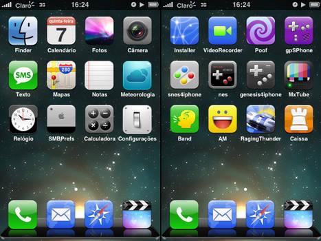 iPhone Brazilian icons