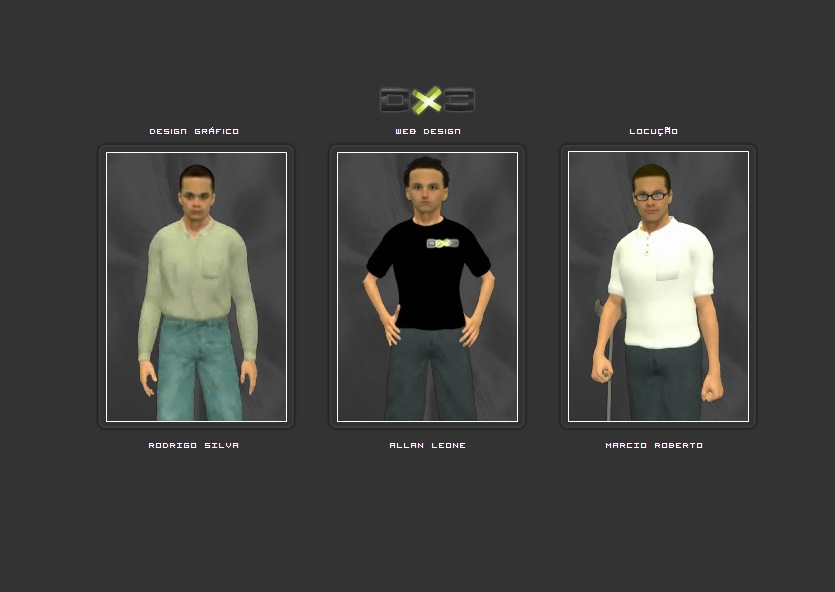 design X3 - DX3 - Menu by allanclb