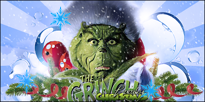 The Grinch christmas by FreakyBaron