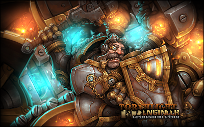 Torchlight engineer by FreakyBaron