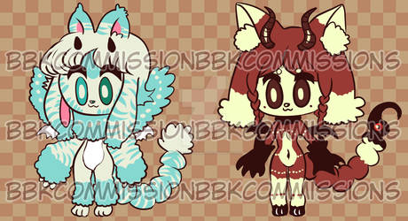 Manticutes adopts 3 open!! $5 each