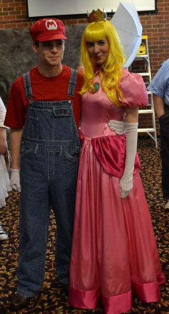 My Peach Costume by mjbeyer
