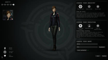 EVE Online Character: Alresha Kurita