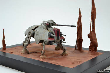 AT-TE on Geonosis by Unreality86