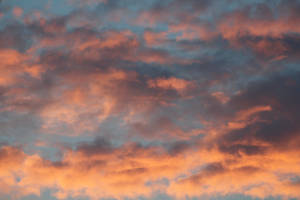 Red clouds /sky by ditney