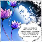 Krishna Talks / Bhagavad Gita / Mahabharata Comic by mahabharatagods