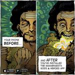 Mahabharata Comic App / Vedic Art / Indian Art by mahabharatagods