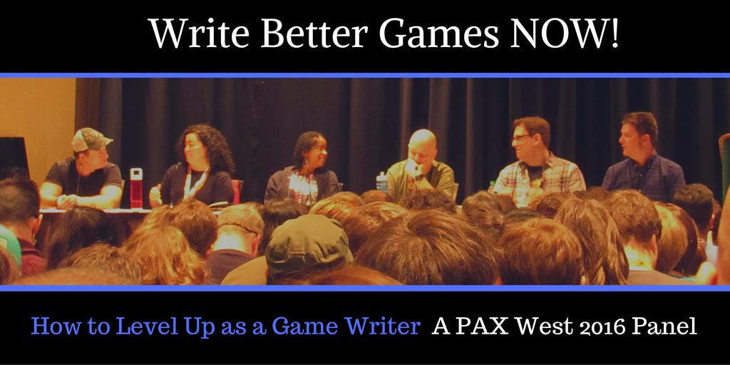 Twitter.GameWritingPAX.Wed.9.14.16 by ArtofChelleElle