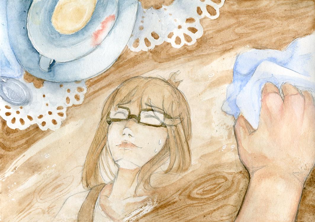 [JOCT S1E6] Cafe part time job by StringlessKite