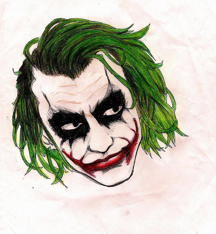 The Joker Colored By Drsnipersmagic On Deviantart