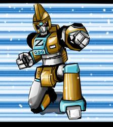 Digimon Zone : Gunner by neiger