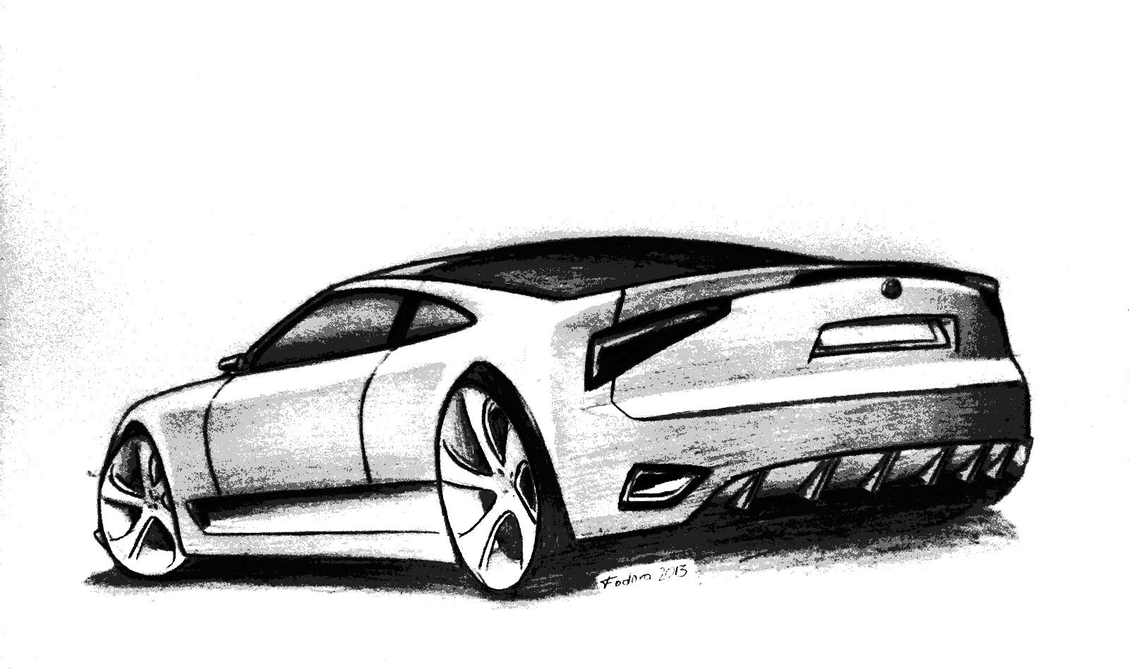 car sketch by robert187 on DeviantArt