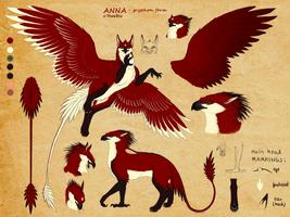 Anna as gryphoness - reference