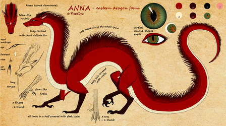 Anna as eastern dragoness - reference
