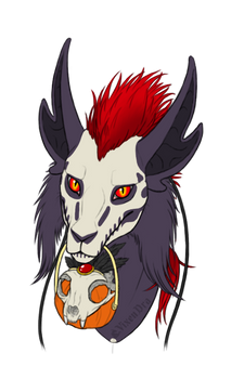 Askentil Halloween portaits - Lilith