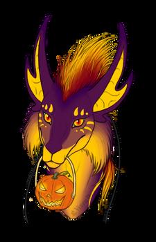 Askentil Halloween portaits - Raziel
