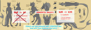 celebrating 10th askentil - DISCOUNT! [1/2 OPEN] by VixenDra