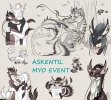 Askentil Species - DTA MYO event: OPEN by VixenDra
