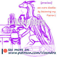 Patreon teaser by VixenDra
